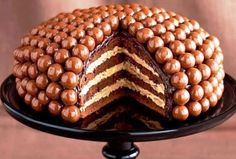 Cake Foods-How To Make A Malteaser Cake
