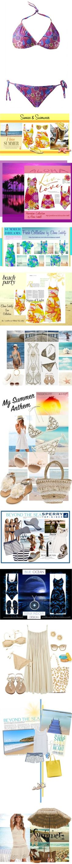 """On The Beach"" by elena-indolfi on Polyvore"