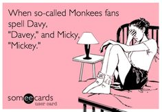 Here's how you remember: 'Mike'and 'Peter' definitely have 'e's in them. Micky and Davy do not. May not work for everyone, but it's how *I* remember. :)