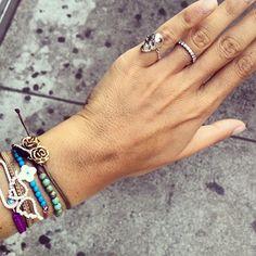 LEIVANKASH SKULL RING.. I love the bracelets too