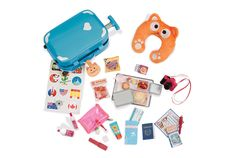 Well Travelled Luggage Set | Our Generation Dolls