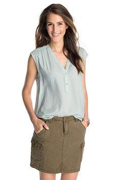 Esprit - Blusen-Top aus Kreppgewebe im Online Shop kaufen