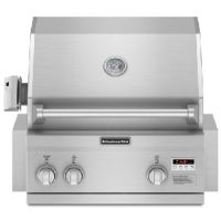"""Milcarsky's Appliance Centre' ~ KitchenAid 27"""" Built-in Grill Stainless Steel"""