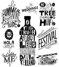 Hand Lettering Interview by Nate Williams (n8w), via Flickr