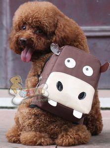 Dog Backpack Bag Funky Cow Design Super Cute | eBay