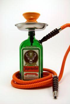 Jagermeister 750ml Bottle Shisha Hookah