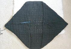 V Stitch Crochet Chunky Cacoon Pattern