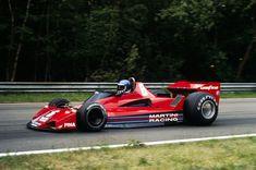 Hans-Joachim Stuck, Brabham-Alfa Romeo BT45B, 1977 Belgian GP, Zolder