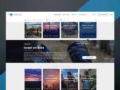 Trip Selection - GIF designed by Mendy Seldowitz for mllnnl. Profile Design, Ui Design, Exploring, The Selection, Trips, Catalog, Shots, Digital, Travel