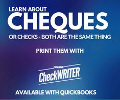 Online Cheque Printing Software on any printer on demand on Blank Check Paper at Home or office. Integrate with Banks - QuickBooks n auto reconcile Cheques Cheap Checks, Blank Check, Free Checking, Writing Software, Quickbooks Online, Custom Website Design, Online Checks, Business Checks, Online Support
