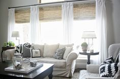Home Interiors: Delightful Bamboo Blinds Curtains Also Bamboo Blinds Cleaning from Bamboo Blinds Ideas