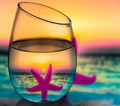 Summer discovered by Szász Beáta on We Heart It #sea #sea #starfish #glass #star #summer #glass #summer #beach #sunset #random #photooftheday #FF #tagforlikes #outdoors