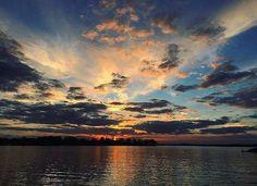 Sunrise on Lake Norman