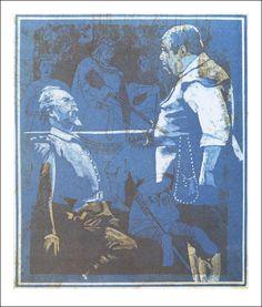 Servantes Don Quijote, illustriert von Eberhard Schlotter.  160 farbige Tafeln Katalog  Das Bücherhaus Krähenwinkel, 1989.