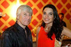 Adam and wife Mariana