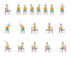 chair yoga elderly  google search  stuhl training
