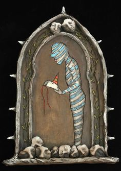 Jacquline Hurlbert - New Paintings on Clay Tablet