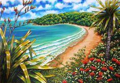 nz art * nz art ` nz art kiwiana ` nz artists ` nz art paintings ` nz art for kids ` nz art prints ` nz art design ` nz art patterns New Zealand Tattoo, New Zealand Art, Nz Art, Art For Art Sake, Landscape Art, Landscape Paintings, Art Paintings, Surfboard Painting, New Zealand Landscape