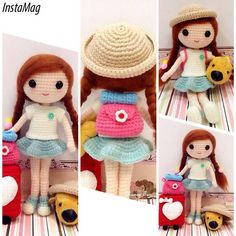 My very 1st doll for the month of May 2015 named Qian Qian. She is going for a…