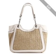 Kelly & Katie Cerene Straw Tote