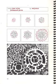 Life Imitates Doodles: New Tangle Pattern Geer #One