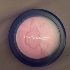 MAC BARBIE Don't Be Shy Blush Limited Edition MAC pink blush from the limited edition Barbie line no longer available color: don't be shy used once pet free smoke free home clean MAC Cosmetics Makeup Blush