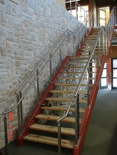 handrails for inside staircases | Interior, : Charming Staircase Decoration Design Ideas With Stainless ...