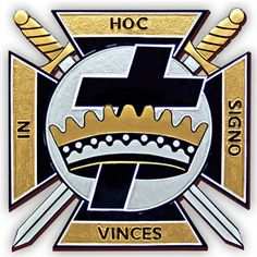 York Rite Knights Templar Emblem