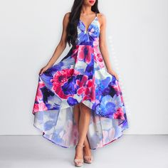 Mesmerised By You Dress - Blue