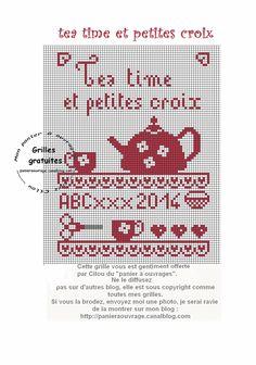 25 décembre tea time et petites croix
