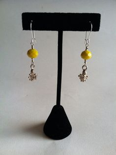 Yellow cluster by BellaMiJewelry on Etsy, $25.00