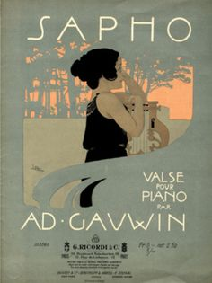 Browse art nouveau sheet music covers in the category 'Figurative' - page 8 Illustrations, Graphic Illustration, Vintage Magazine, Academic Art, Art Nouveau Design, Alphonse Mucha, Poster Ads, Inspiration Art, Music Covers