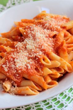 Penne with Blush Sauce