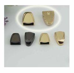 100pcs Zipper Ends gunmetal light golden  Finish by kesterpurse