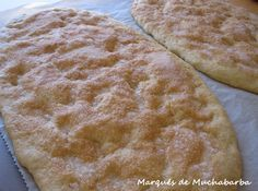 las recetas del marqués de muchabarba: TORTAS DE MANTECA MANCHEGAS Mexican Food Recipes, Ethnic Recipes, Plum Cake, Almond Cakes, Quick Bread, Cakes And More, Sweet Tooth, Cooking Recipes, Sweets