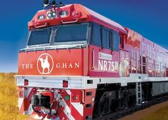 The Ghan Rail Train service departs Alice Springs on MON and THU. Train arrives Darwin the next day. Gold, Red Kangaroo and Day Night seats available. Ghan R. Australia Holidays, South Australia, Australia Travel, Darwin Australia, By Train, Train Tracks, Southern Rail, Audley Travel, Coach Tours