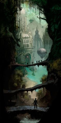 'Adventure Concept Art 1' by Artur Sadlos