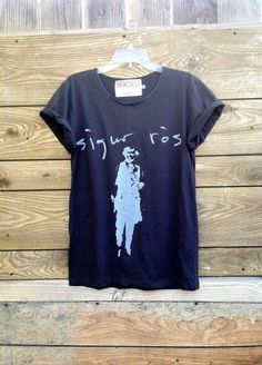 Sigur Ros Tshirt by MogwaiClubApparel on Etsy, $20.00
