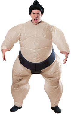 Oppblåsbar sumo drakt med batteridrevet vifte.   http://www.seduce.no/prod.php?id=54584