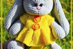 Patrón de ganchillo libre de conejo Amigurumi - Página 4 de 6 - Patrones de amigurumi gratis Crochet Patterns Amigurumi, Crochet Toys, Begonia, Peppa Pig, Hello Kitty, Lily, Teddy Bear, Handmade, Crochet Animal Amigurumi