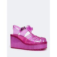 5cd3baf8e99d Flink Jelly Platform Sandal ( 30) ❤ liked on Polyvore featuring shoes