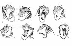 Tiger Character Concepts