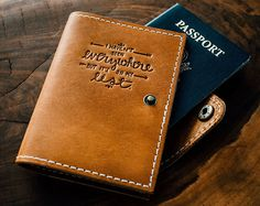 Old Trees Forest Magic Characters Roots Blocking Print Passport Holder Cover Case Travel Luggage Passport Wallet Card Holder Made With Leather For Men Women Kids Family