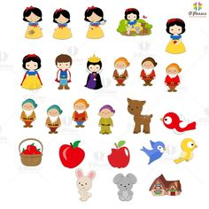 Snow White Birthday, Kit, Snoopy, Party, Fictional Characters, Silhouette Projects, Lady Gaga, Invitation Birthday, Diy