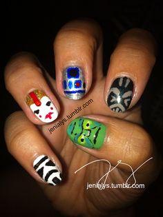 star wars night this Saturday 9/14 #nail #nails #nailart