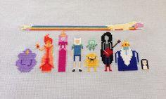 Adventure time cross stitch
