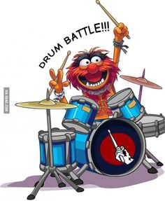 Les Muppets, Animal Muppet, Drummer Gifts, Drum Music, The Muppet Show, Music Images, Jim Henson, Just For Laughs, Marvin The Martian