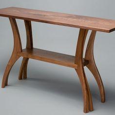 Custom Made Finback Hall Table