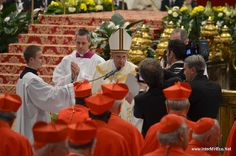 Consistory for the Creation of New Cardinals Papa Francisco, Table Decorations, News, Vatican, Reunions, Cardinals, Dinner Table Decorations