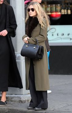 Best-Dressed Ashley Olsen Bundles Up in NYC                                                                                                                                                                                 More